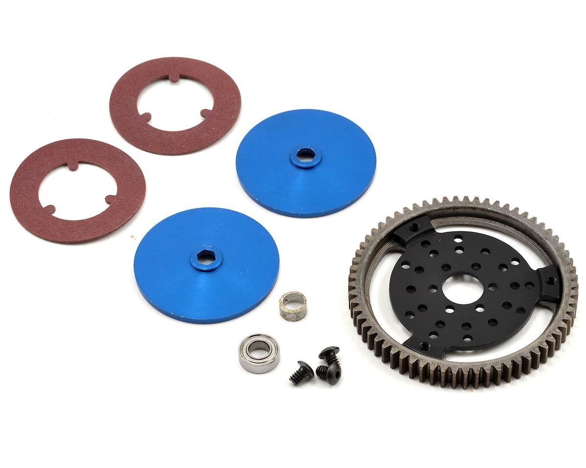 Double Disc Slipper Clutch Kit w/Steel Spur (65T)