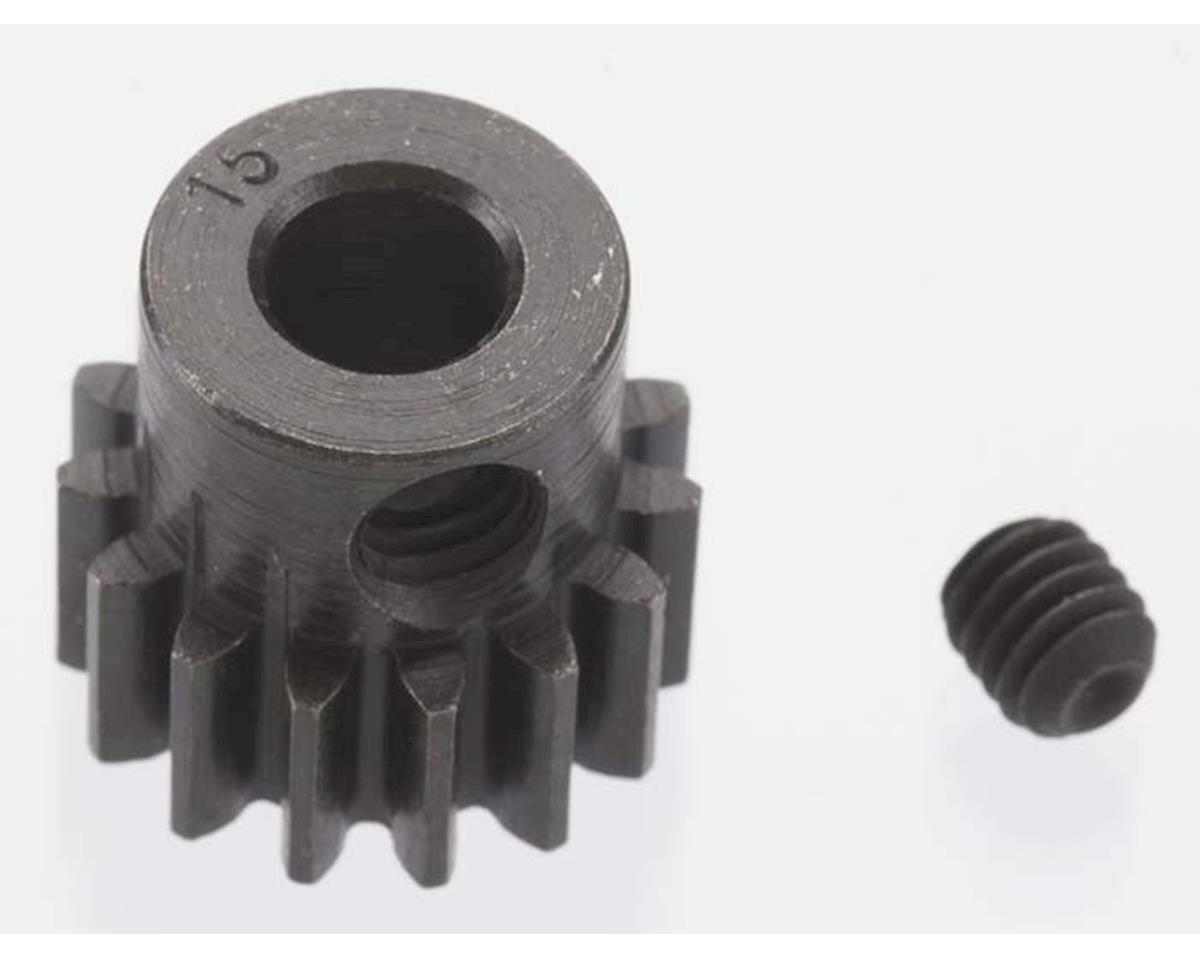 Robinson Racing Extra Hard Blackened Steel 32P Pinion Gear w/5mm Bore (15T)