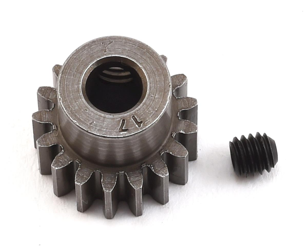 Robinson Racing Extra Hard Blackened Steel 32P Pinion Gear w/5mm Bore (17T)
