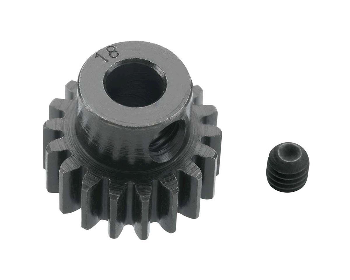 Robinson Racing Extra Hard Blackened Steel 32P Pinion Gear w/5mm Bore (18T)