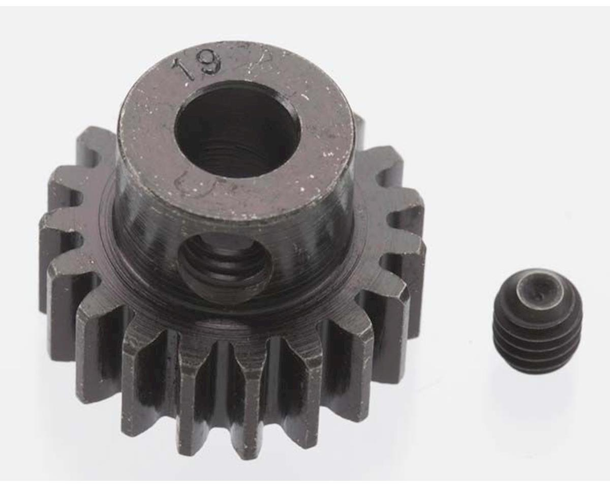 Robinson Racing Extra Hard Blackened Steel 32P Pinion Gear w/5mm Bore (19T)