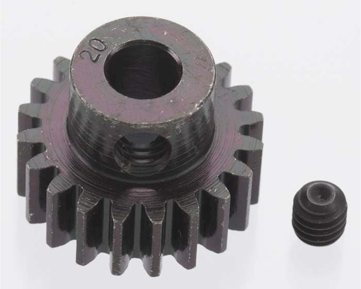 Extra Hard Blackened Steel 32P Pinion Gear w/5mm Bore (20T) by Robinson Racing