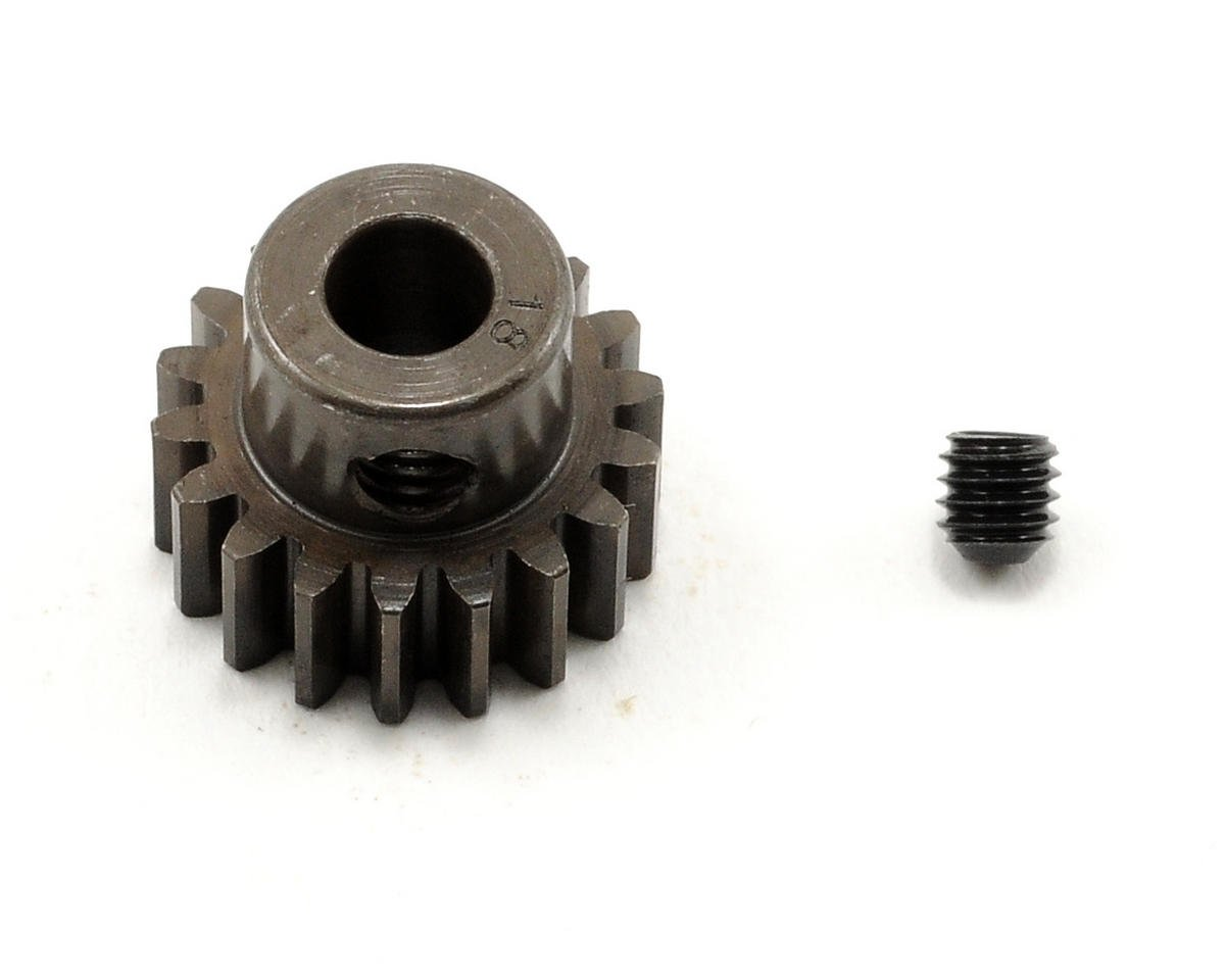 Robinson Racing Extra Hard Steel .8 Mod Pinion Gear w/5mm Bore (18T)