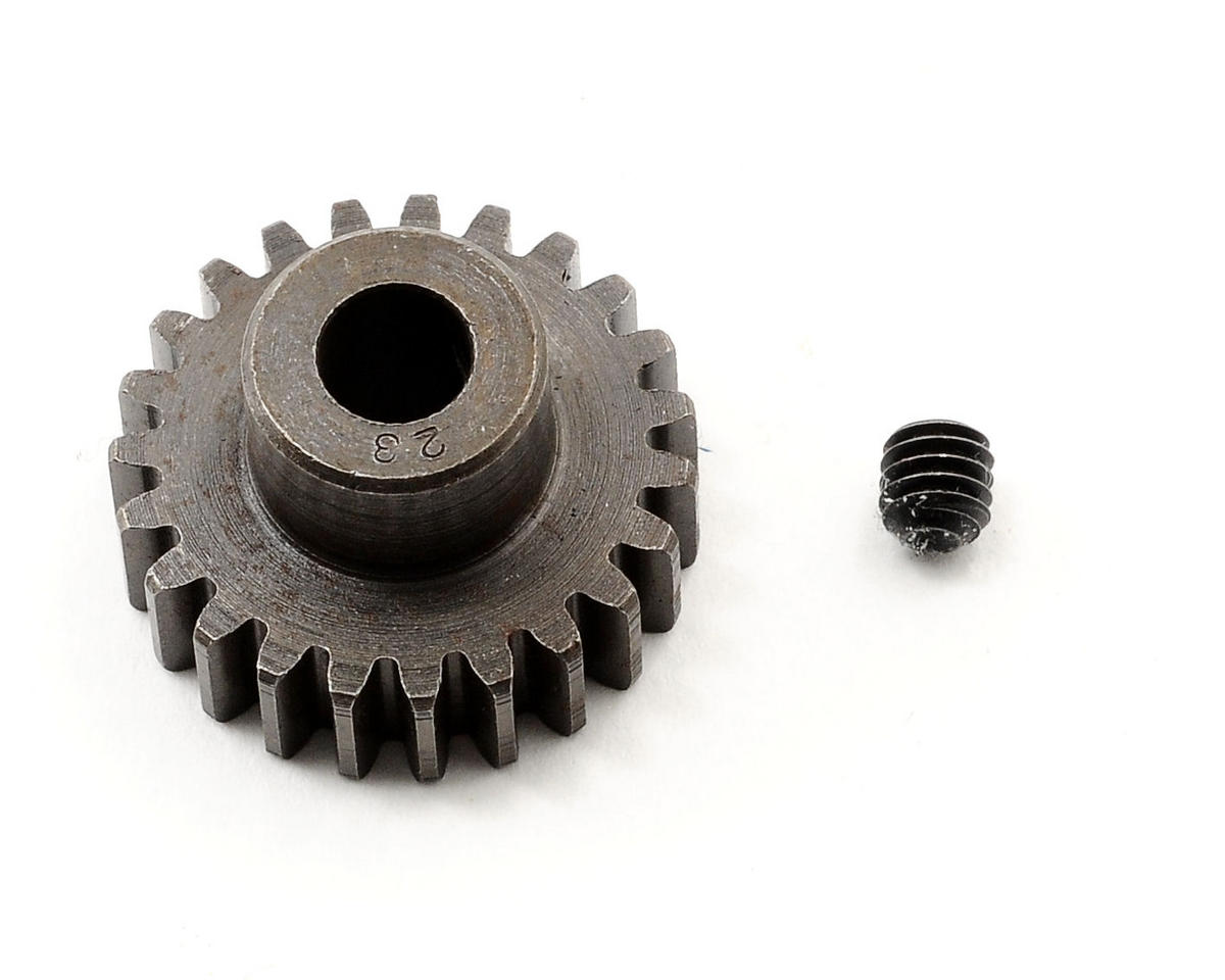 Robinson Racing Extra Hard Steel .8 Mod Pinion Gear w/5mm Bore (23T)