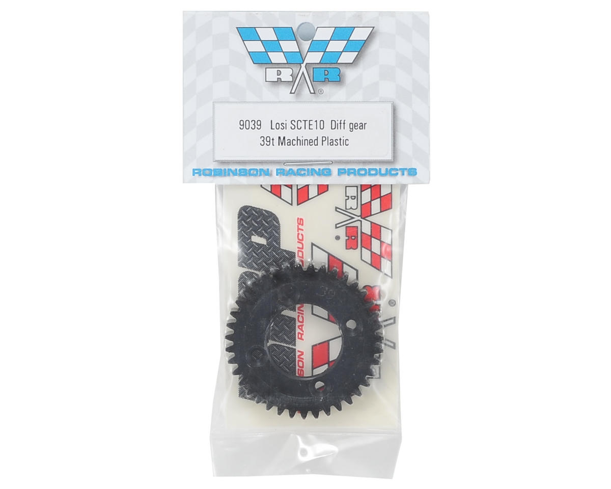 Robinson Racing TEN-SCTE Machined Plastic Diff Gear (39T)