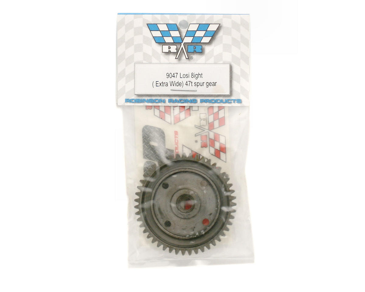 Robinson Racing Losi 8ight X/Wide Steel Spur Gear (47T)