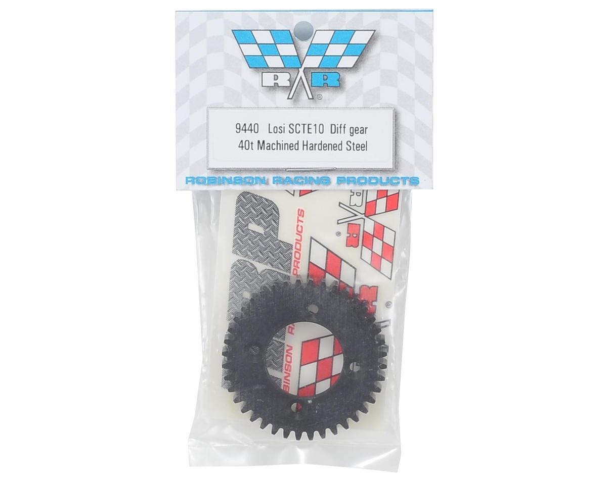 Robinson Racing TEN-SCTE Hardened Machined Steel Diff Gear (40T)