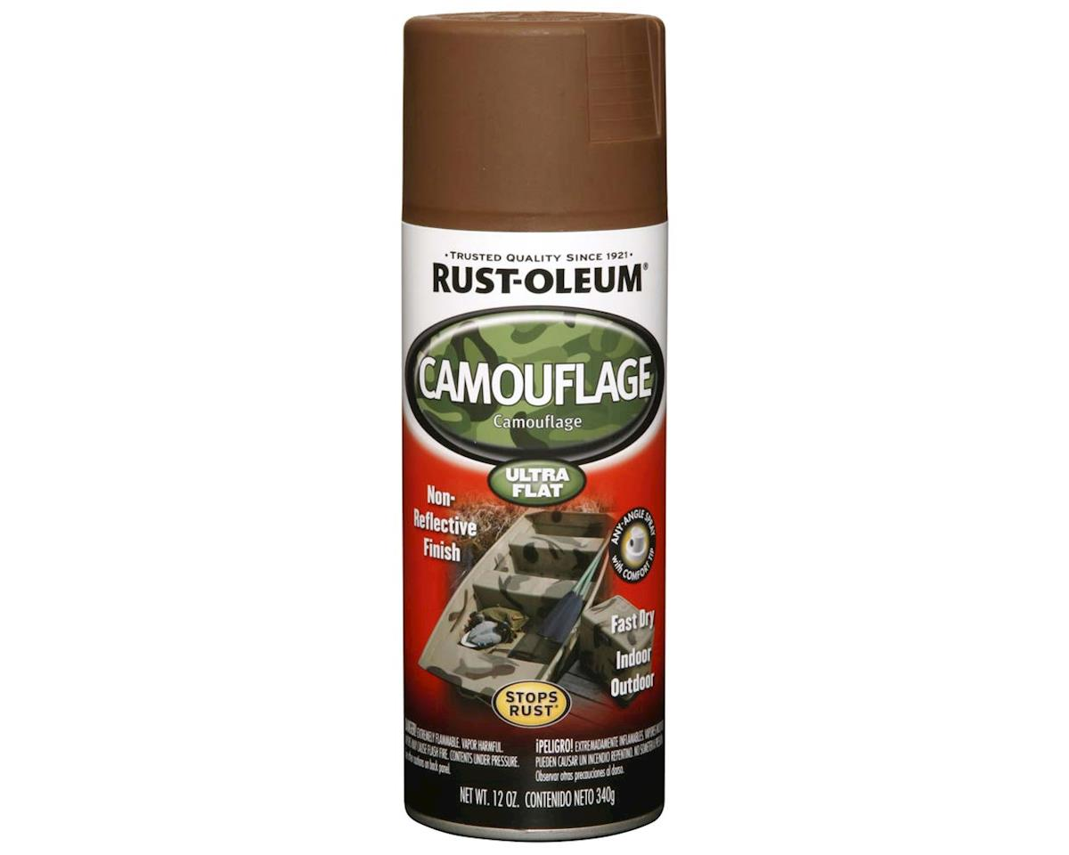 248663 Brown Camouflage Spray Paint 12 oz