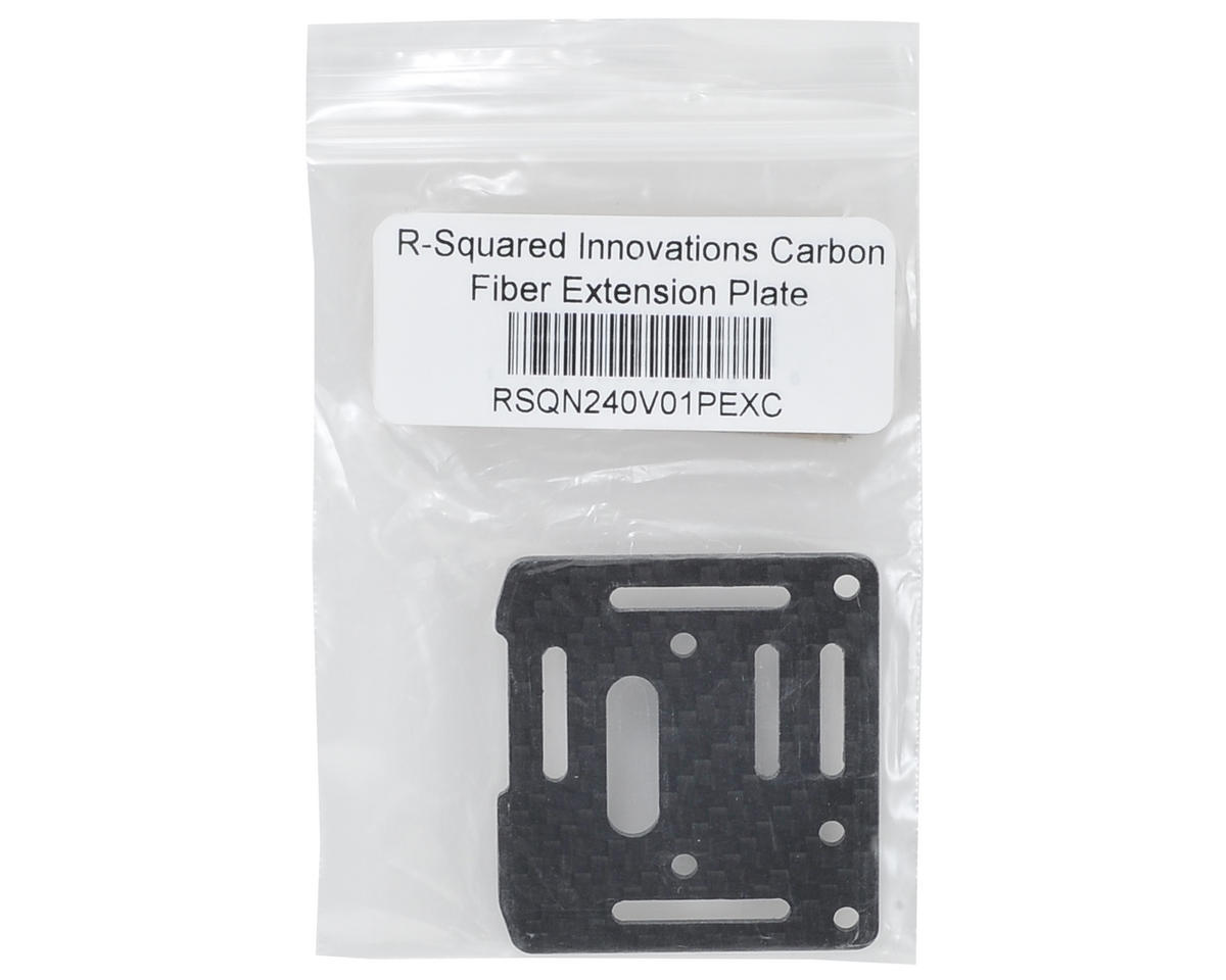 R-Squared Innovations Carbon Fiber Extension Plate
