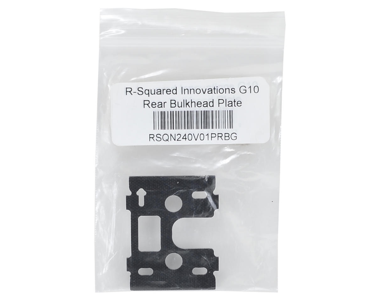 R-Squared Innovations G10 Rear Bulkhead Plate