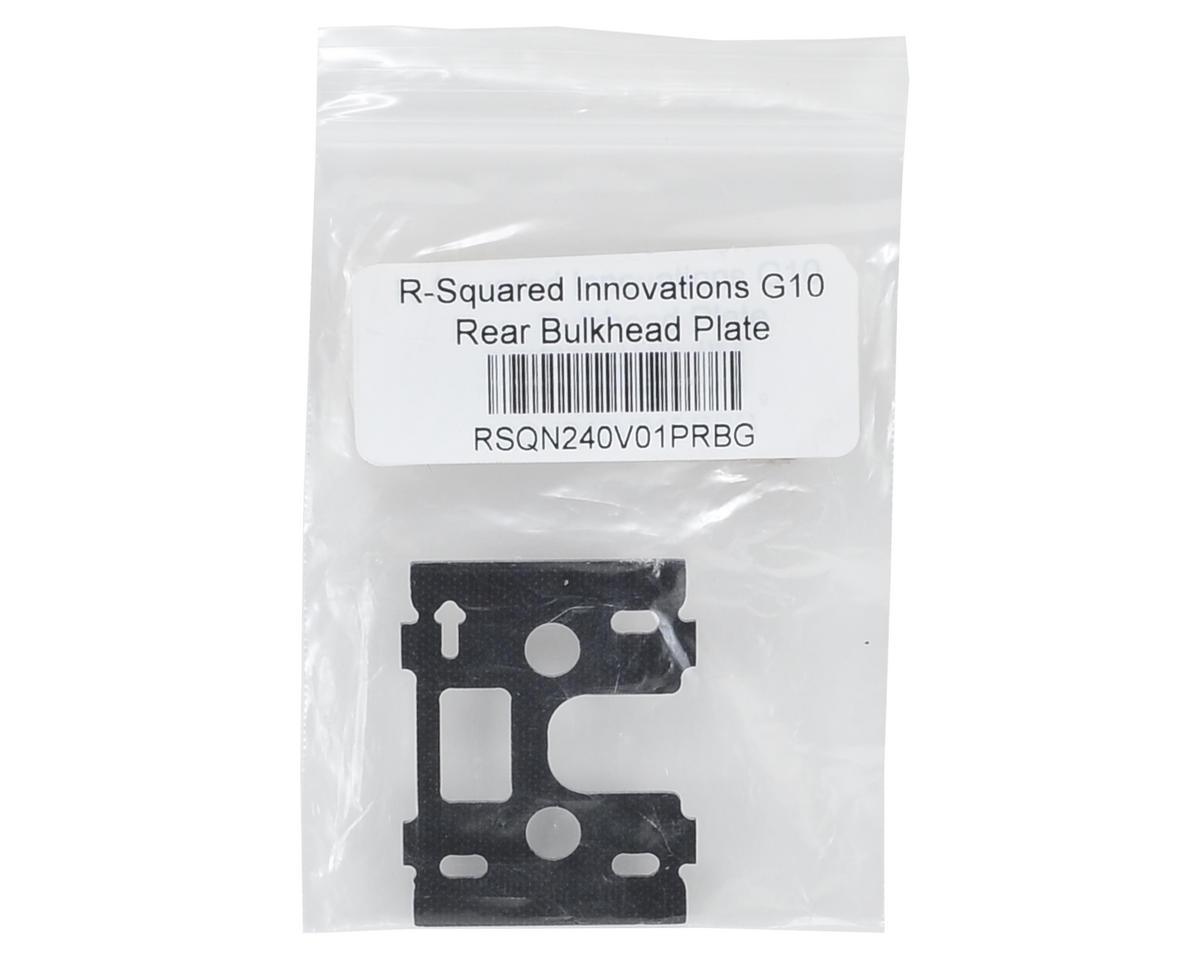 R-Squared Innovations G10 Rear Bulkhead Plate