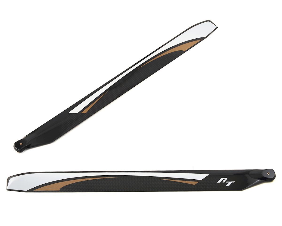 RotorTech 480mm Premium Carbon Fiber Rotor Blade Set (B-Surface)