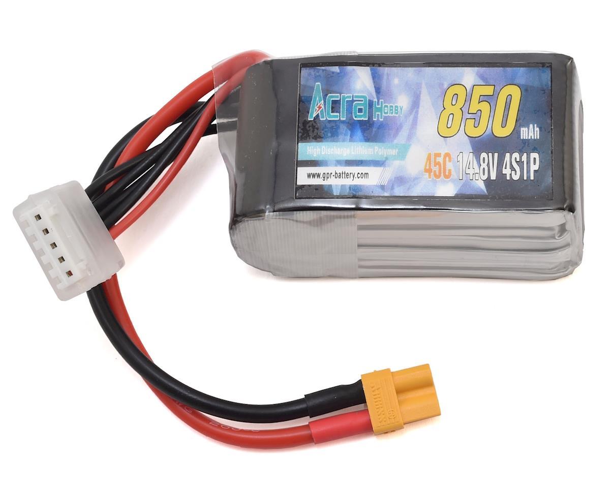 RaceTek GPR 4S 45C LiPo Battery (14.8V/850mAh)