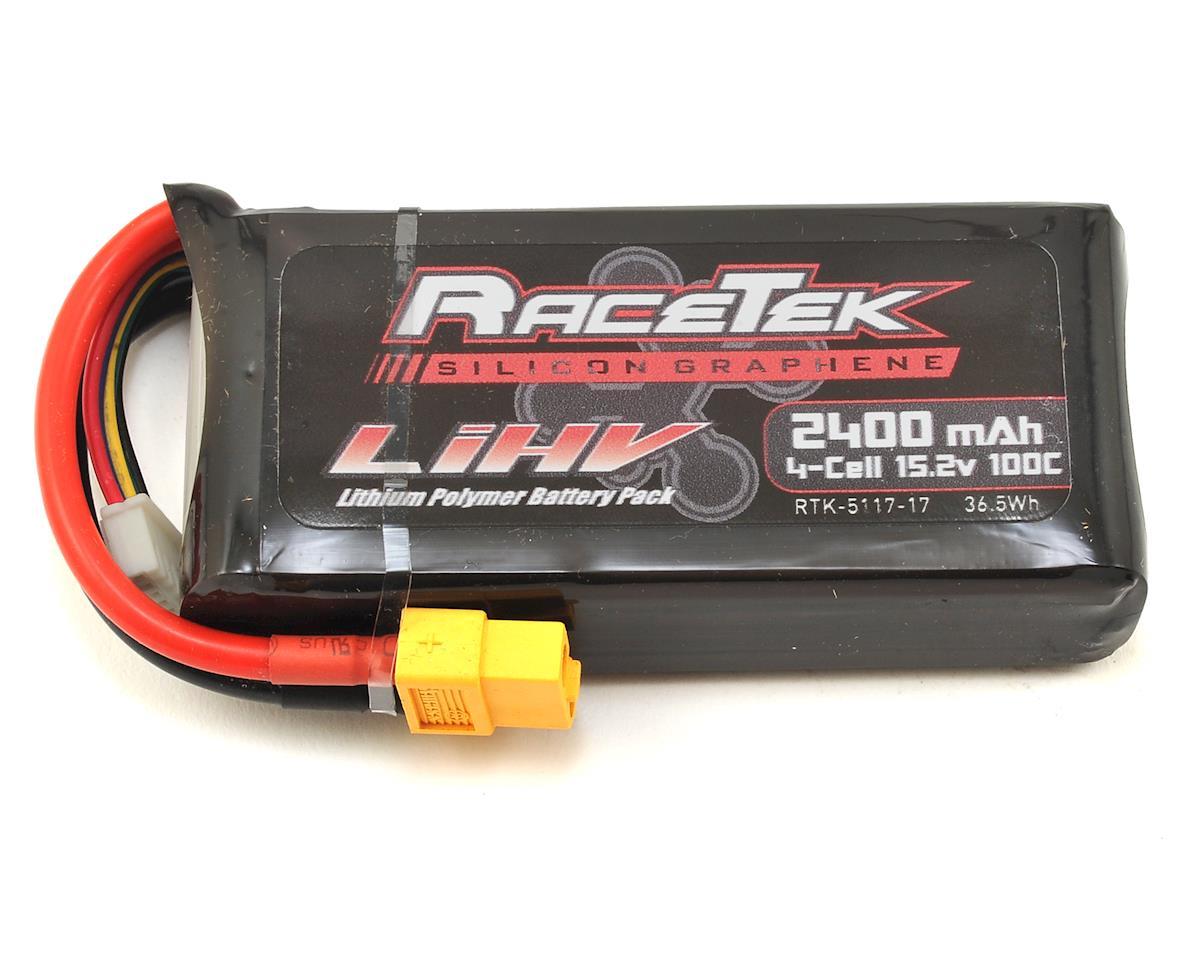 RaceTek 4S 100C Silicon Graphene HV LiPo Battery (15.2V/2400mAh)