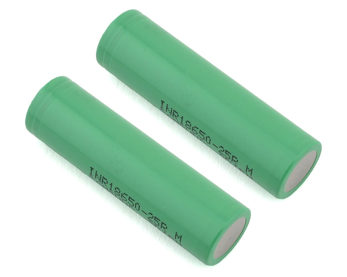 18650 20A Samsung 25R Li-Ion Battery (2) (3.7V/2500mAh)
