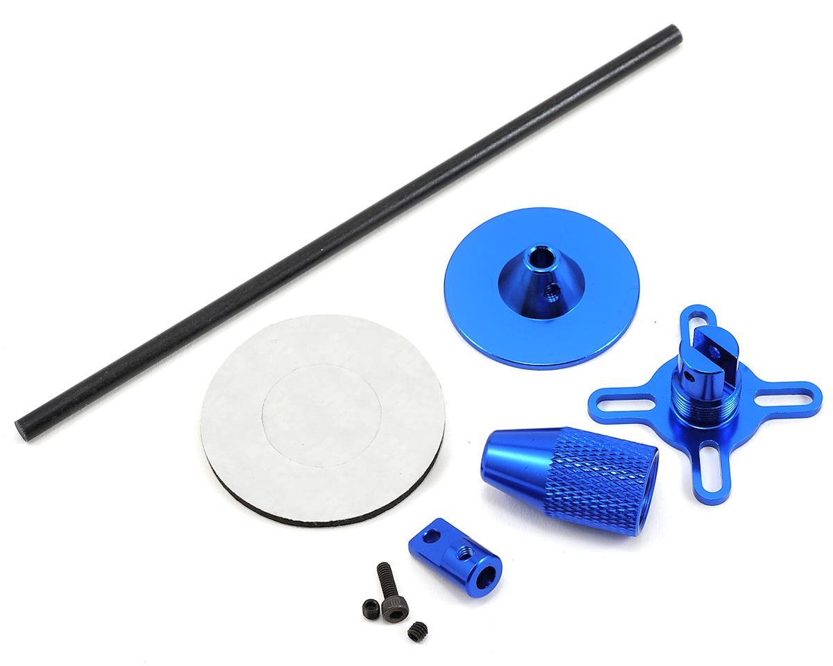 RaceTek Foldable GPS Holder (Blue)