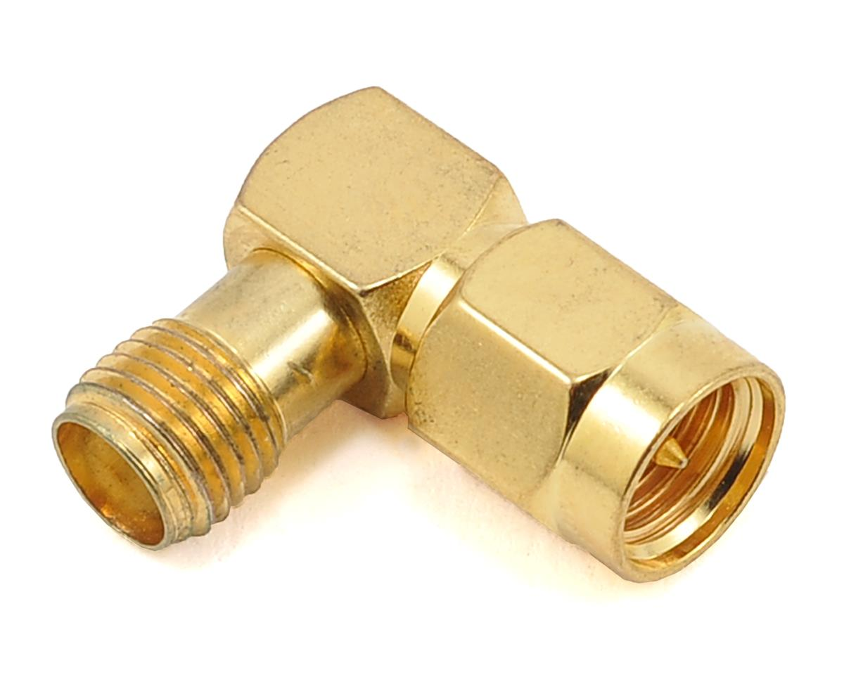 SMA male to SMA female 90 Degree Turn Adapter.