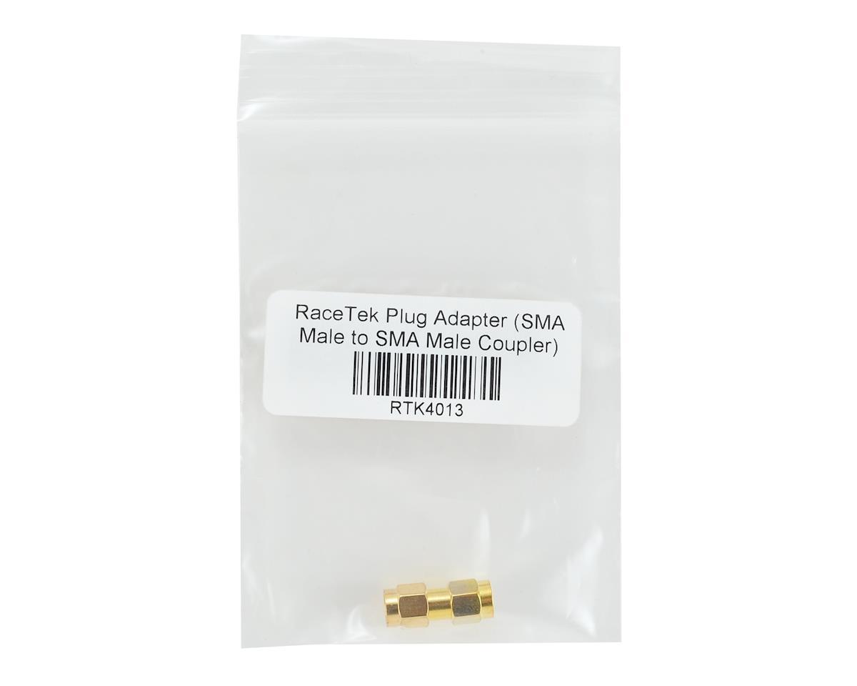 RaceTek Plug Adapter (SMA Male to SMA Male Coupler)