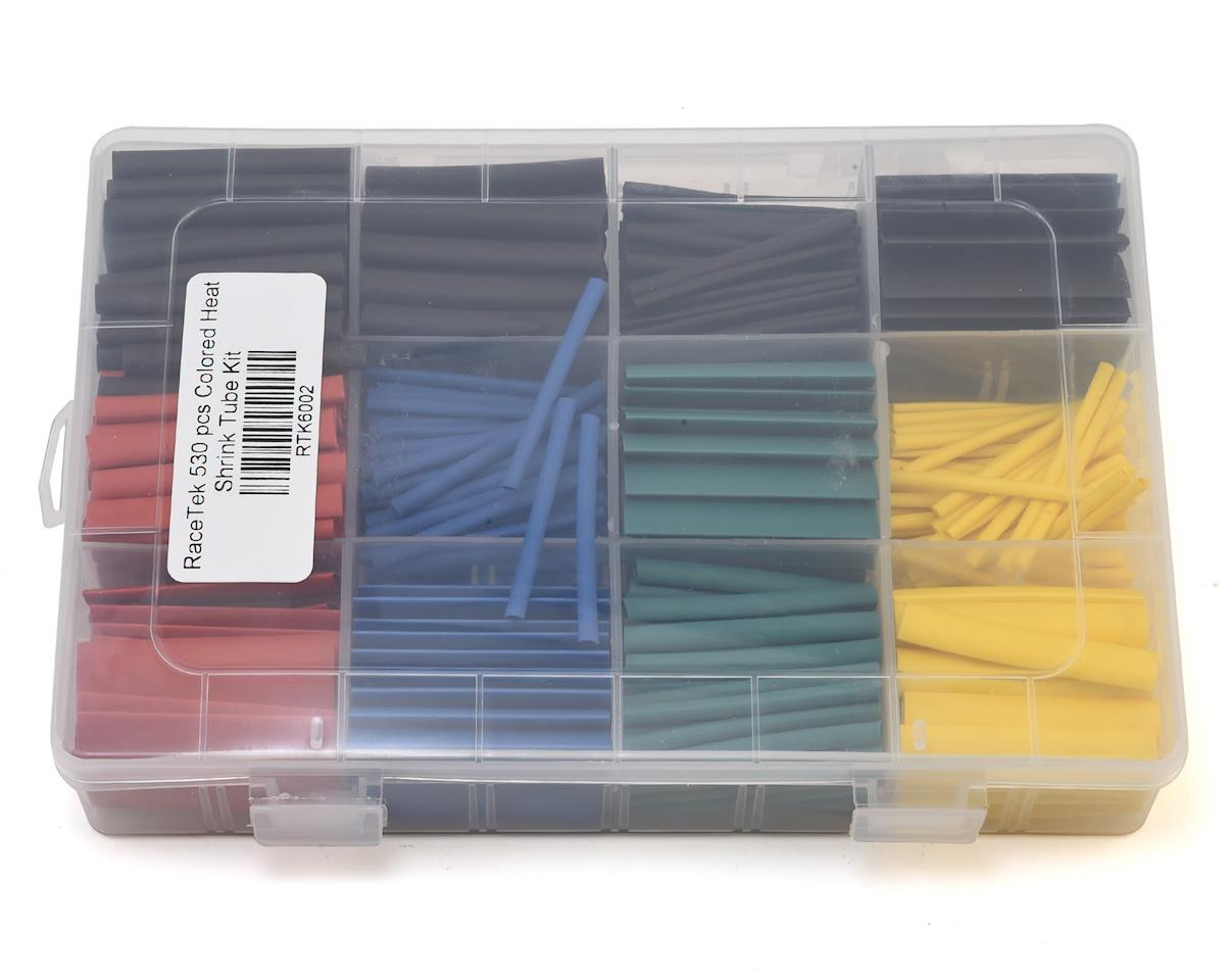 530 Piece Colored Heat Shrink Tube Kit (3mm/6mm/7mm/10mm)