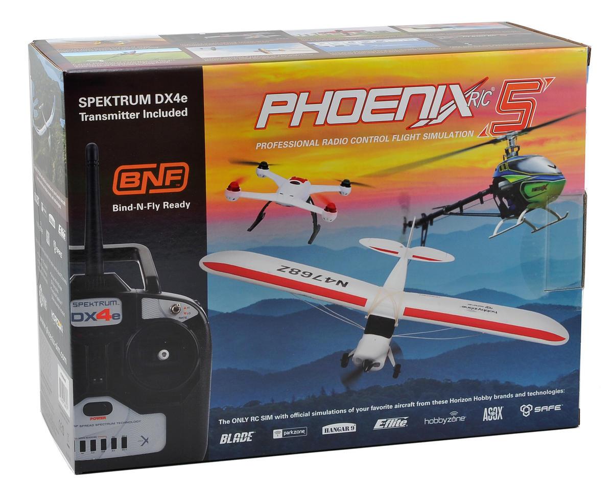 Runtime Games Phoenix R/C Pro Simulator V5.0 w/DX4e Transmitter