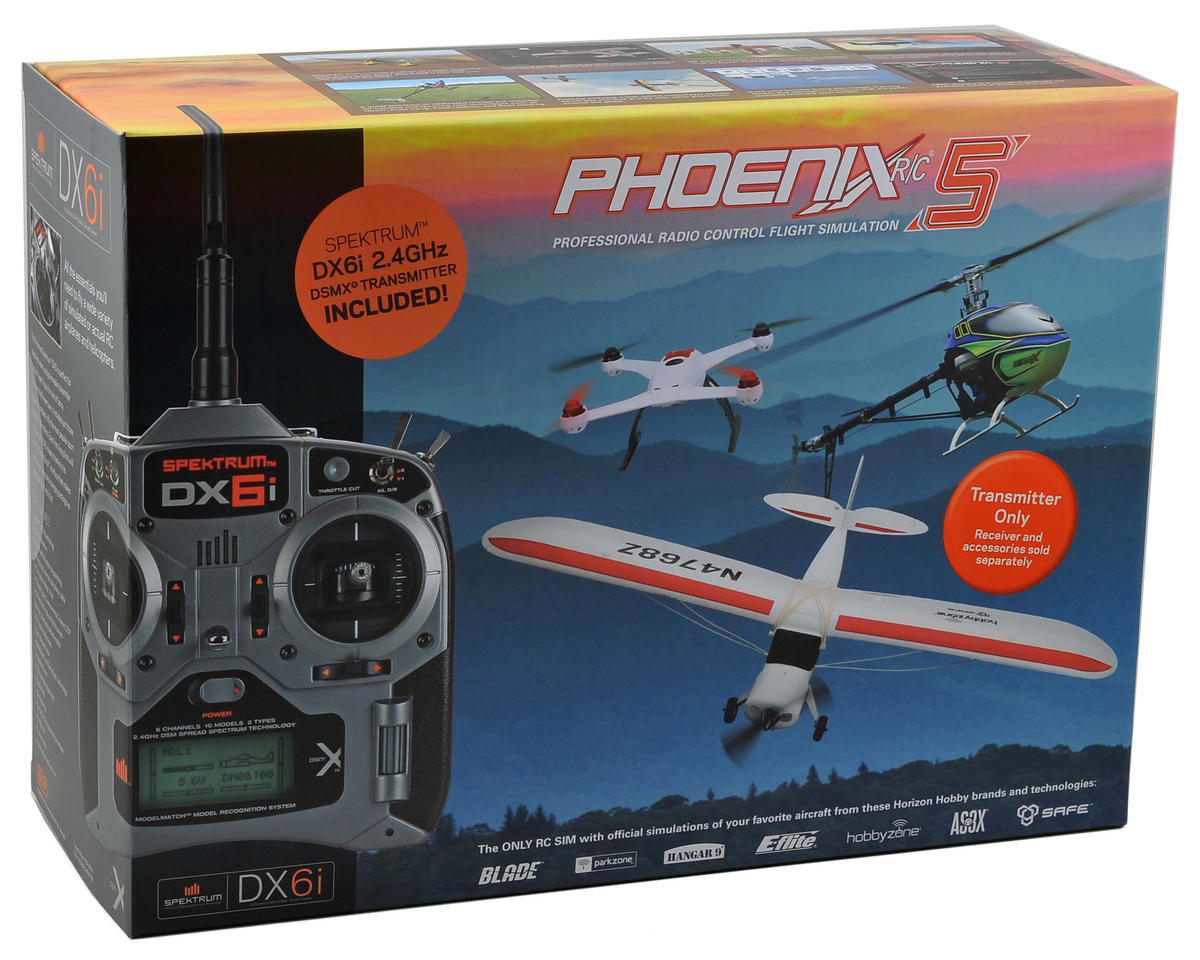 Runtime Games Phoenix R/C Pro Simulator V5.0 w/DX6i Transmitter