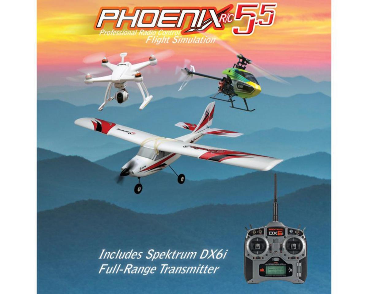 Runtime Games Phoenix R/C Pro Simulator V5 5 w/DX6i Transmitter