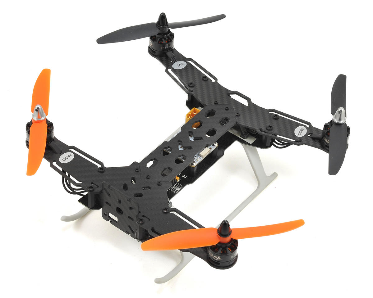 RCTimer INDY250 PLUS Carbon Fiber FPV Racing Quadcopter