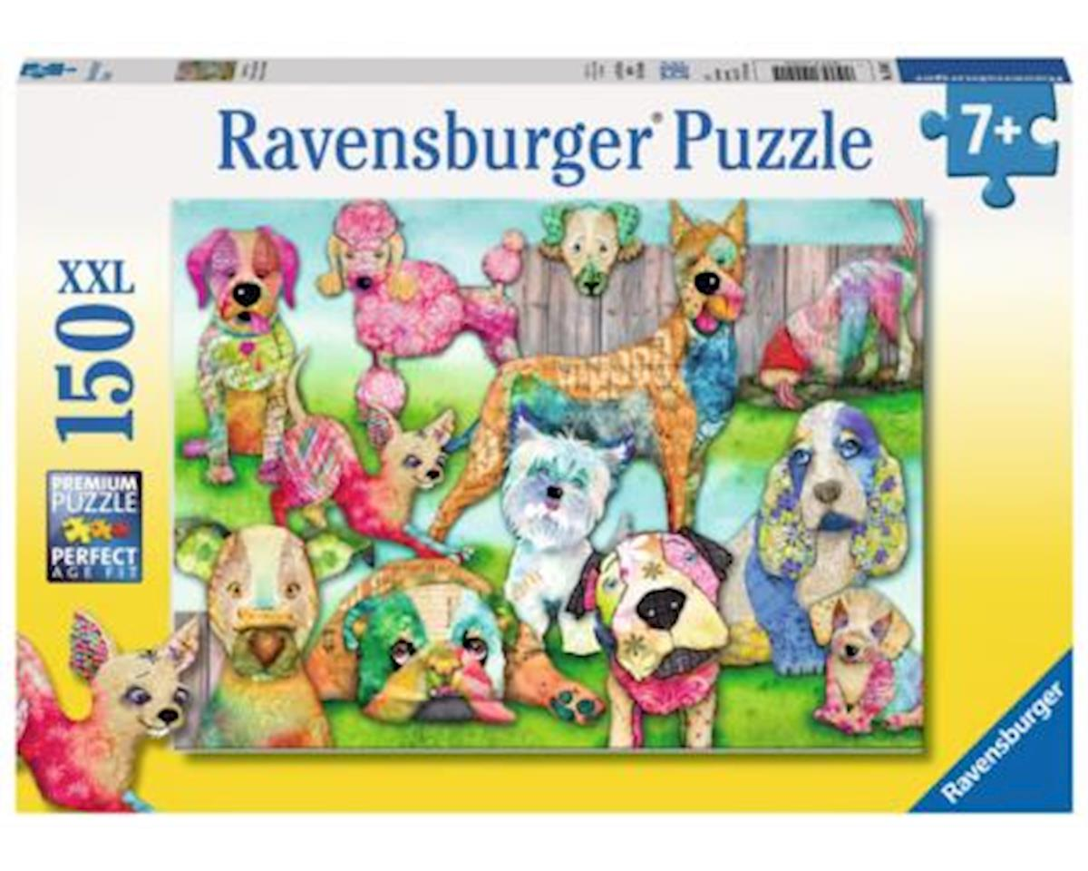 Ravensburger -Patchwork Pups - 150 pc Puzzle