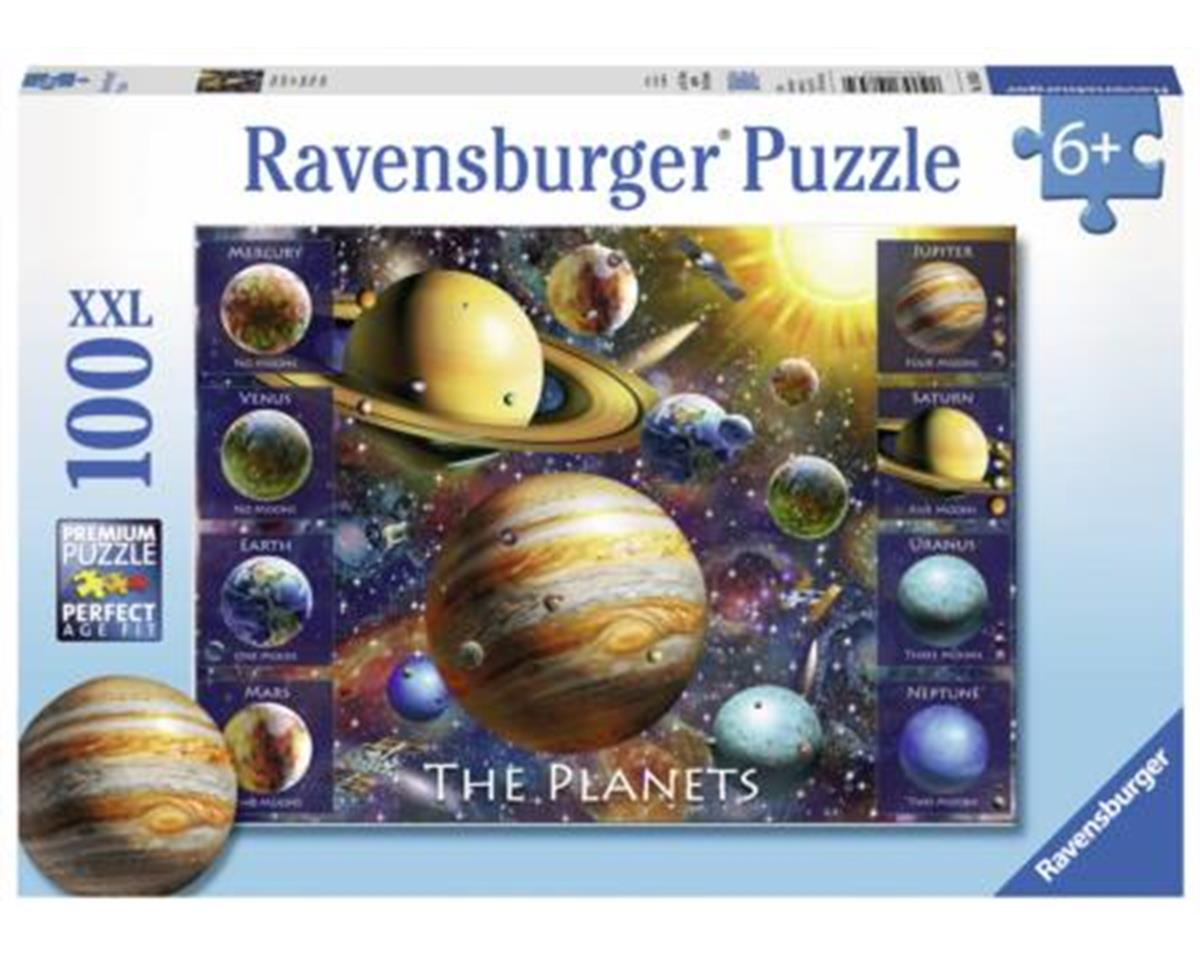 10853 - the Planets Jigsaw Puzzles (100 Piece)