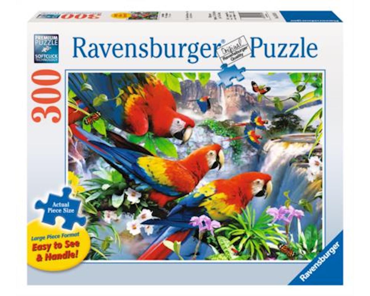 Ravensburger - F.x. Schmid Tropical Birds 300 Pc Large Format