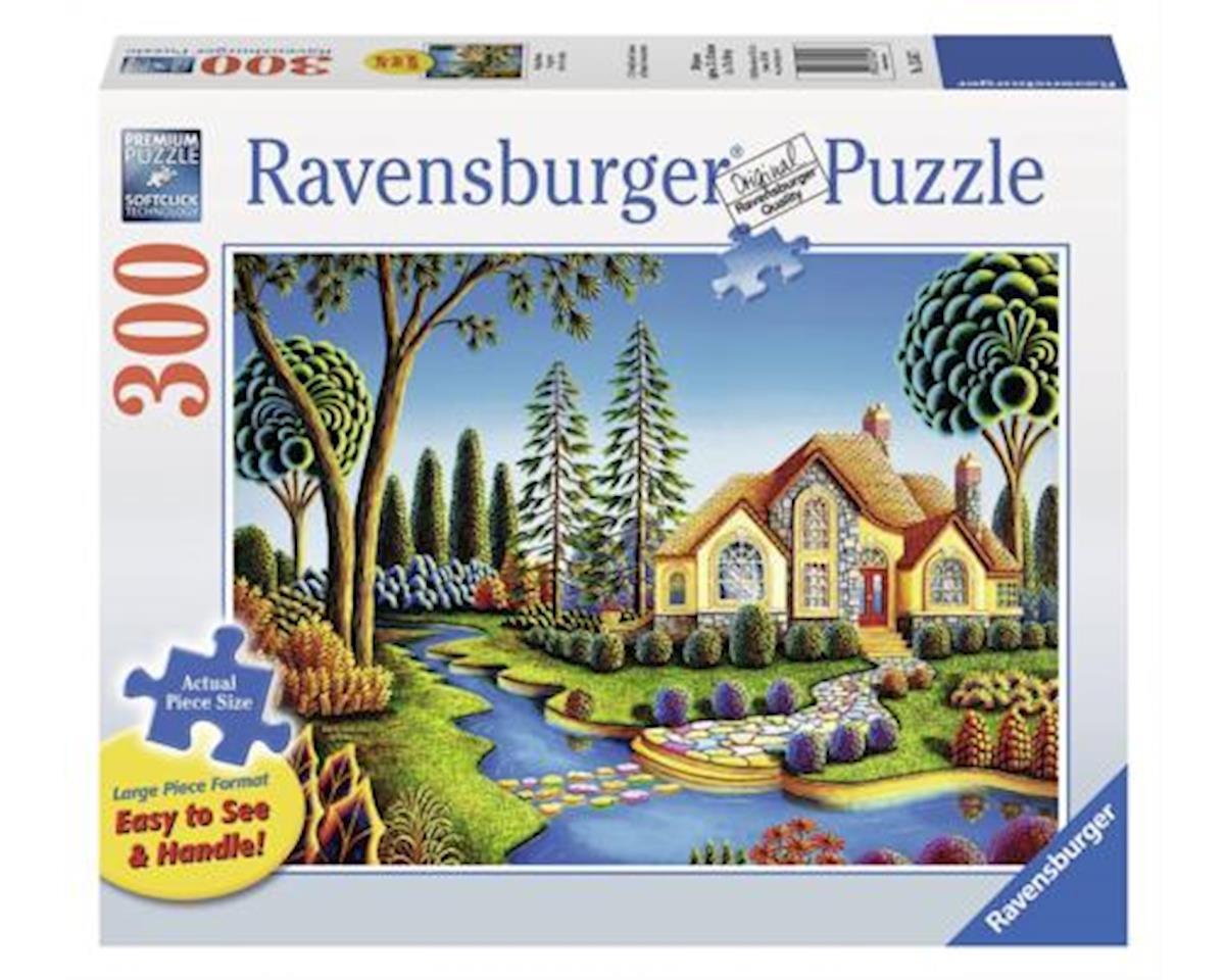 Cottage Dream-Large Format Jigsaw Puzzle (300-Piece)