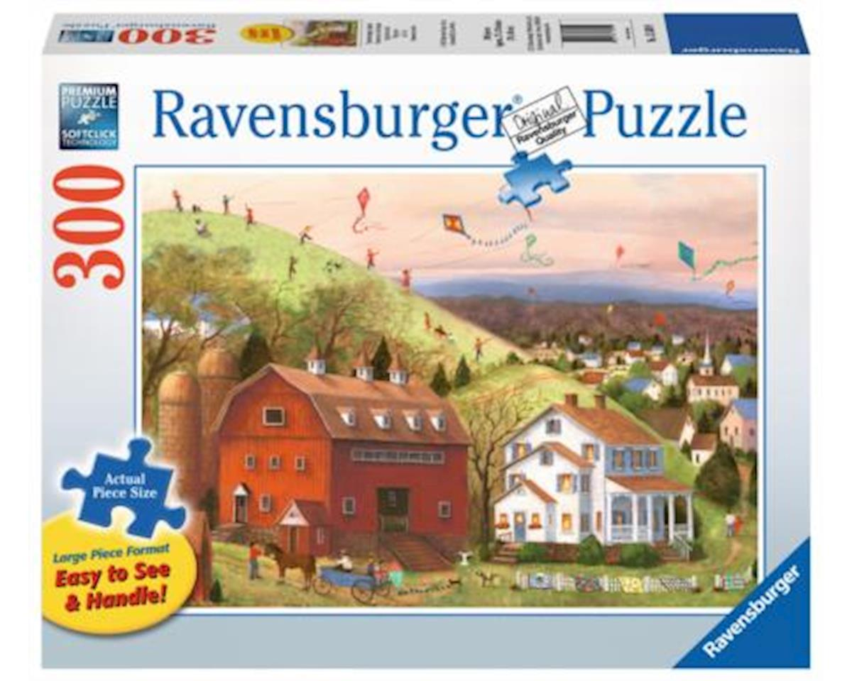 Ravensburger 13589 - Let's Fly Jigsaw Format Puzzle (300 Piece), Large, Multicolor