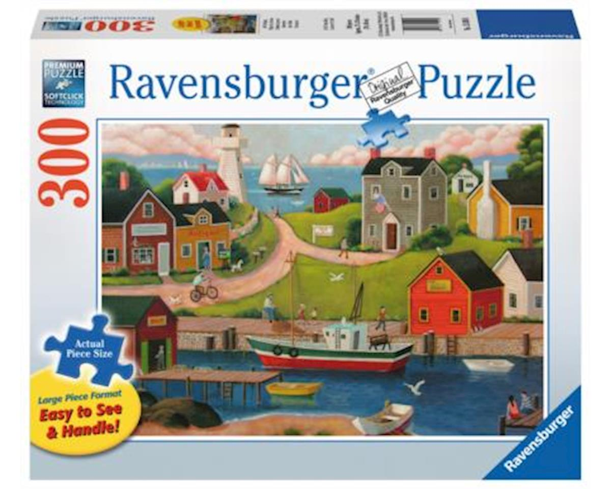Ravensburger 13593 - Gone Fishin' Jigsaw Format Puzzle (300 Piece), Large, Multicolor