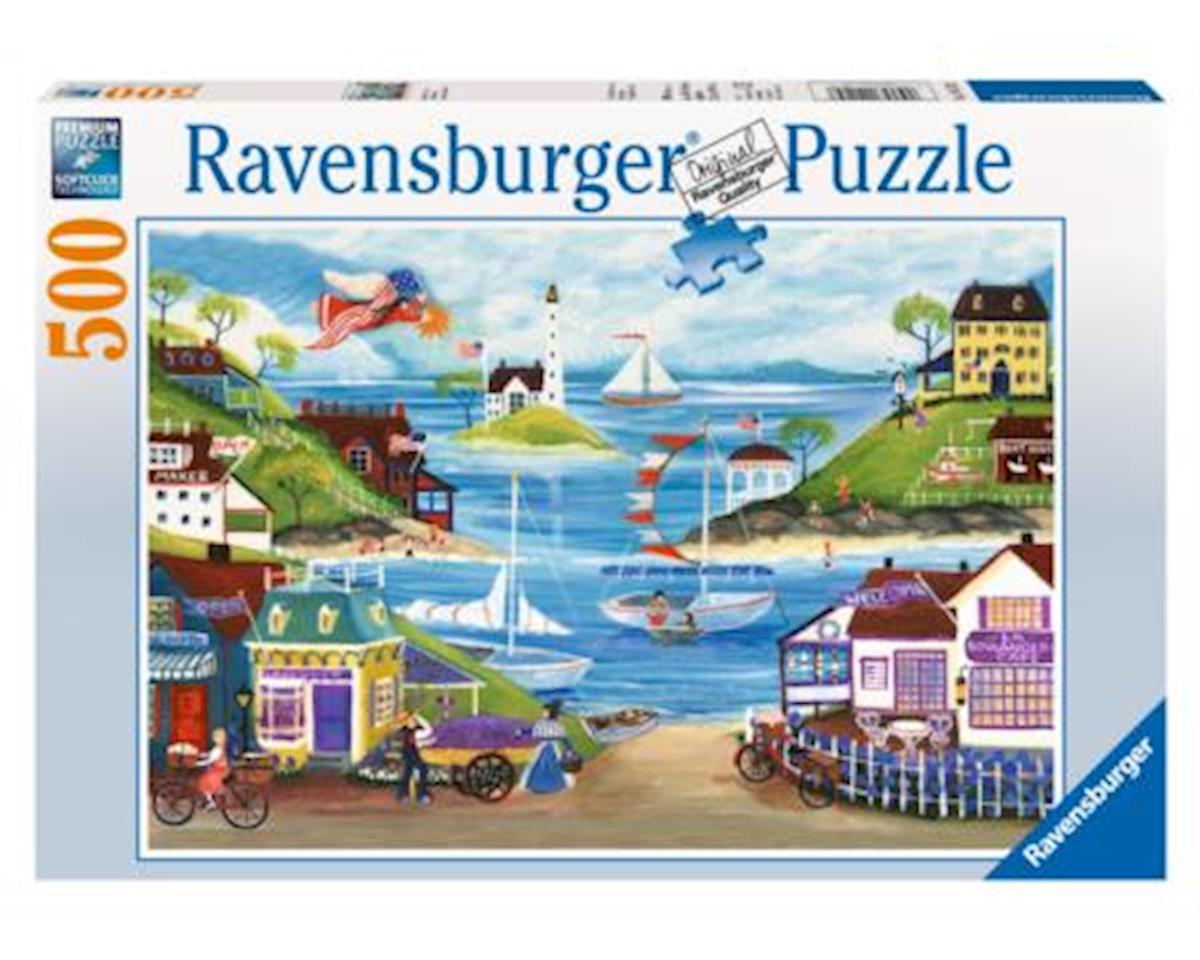 Lovely Seaside 500Pc Puzzle by Ravensburger - F.x. Schmid