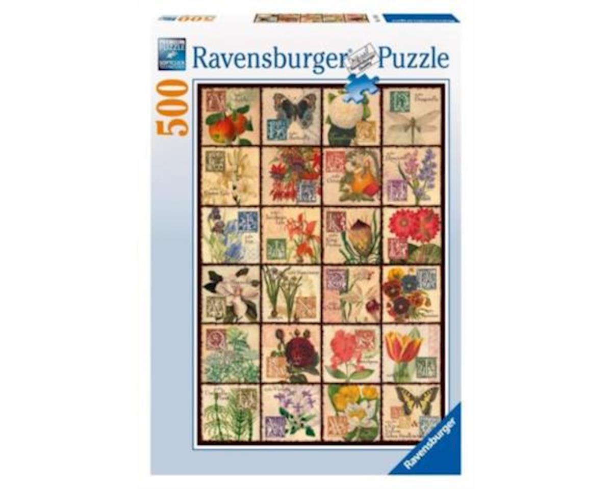 Ravensburger - F.x. Schmid Vintage Flora 500Pc Puzzle