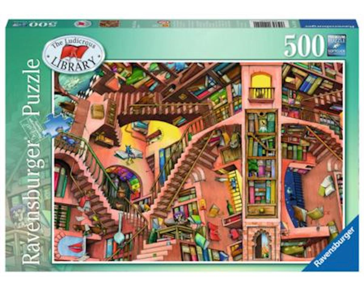 The Ludicrous Library Jigsaw Puzzle (500 Piece)