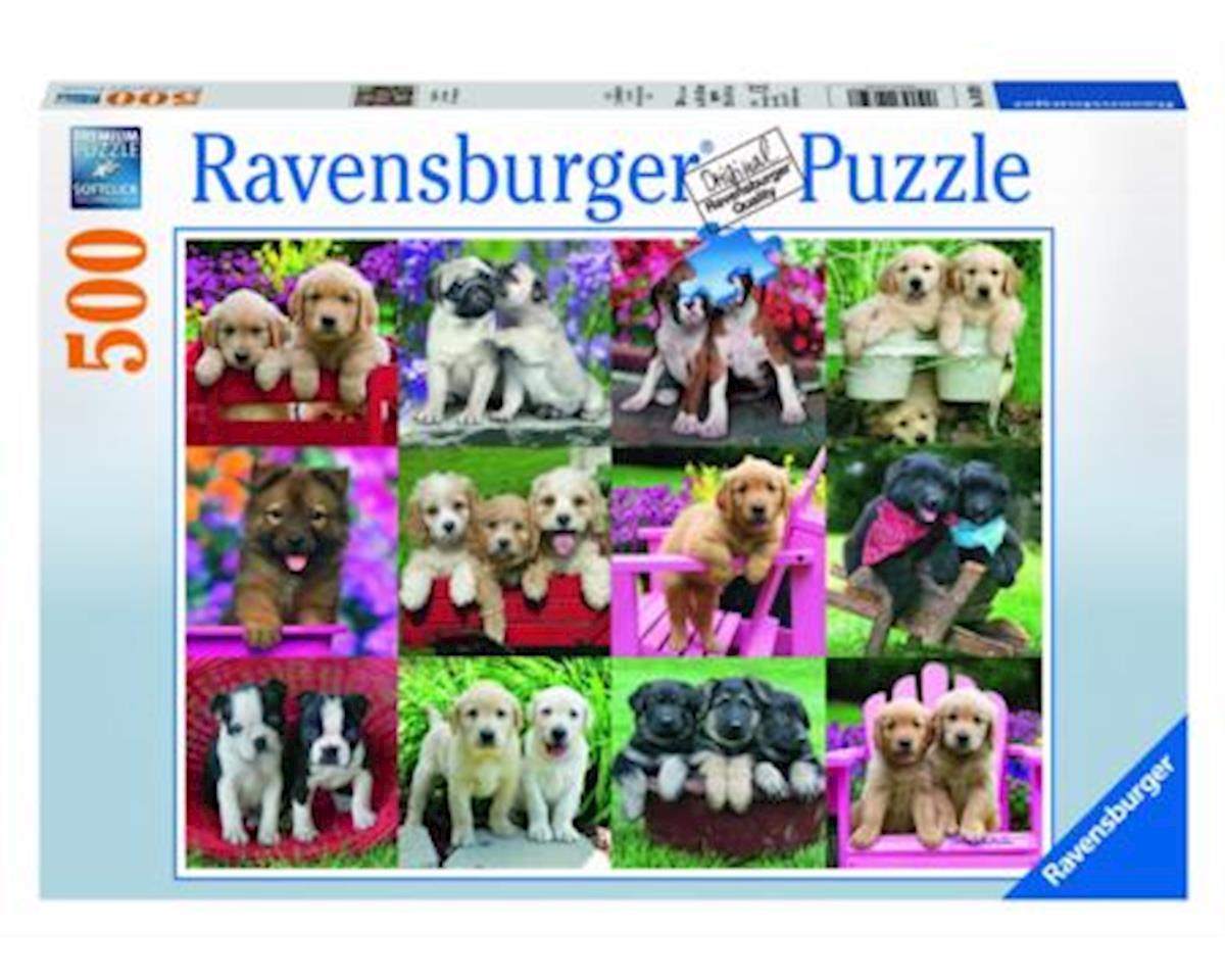 Ravensburger Puppy Pals - Puzzle (500-Piece)