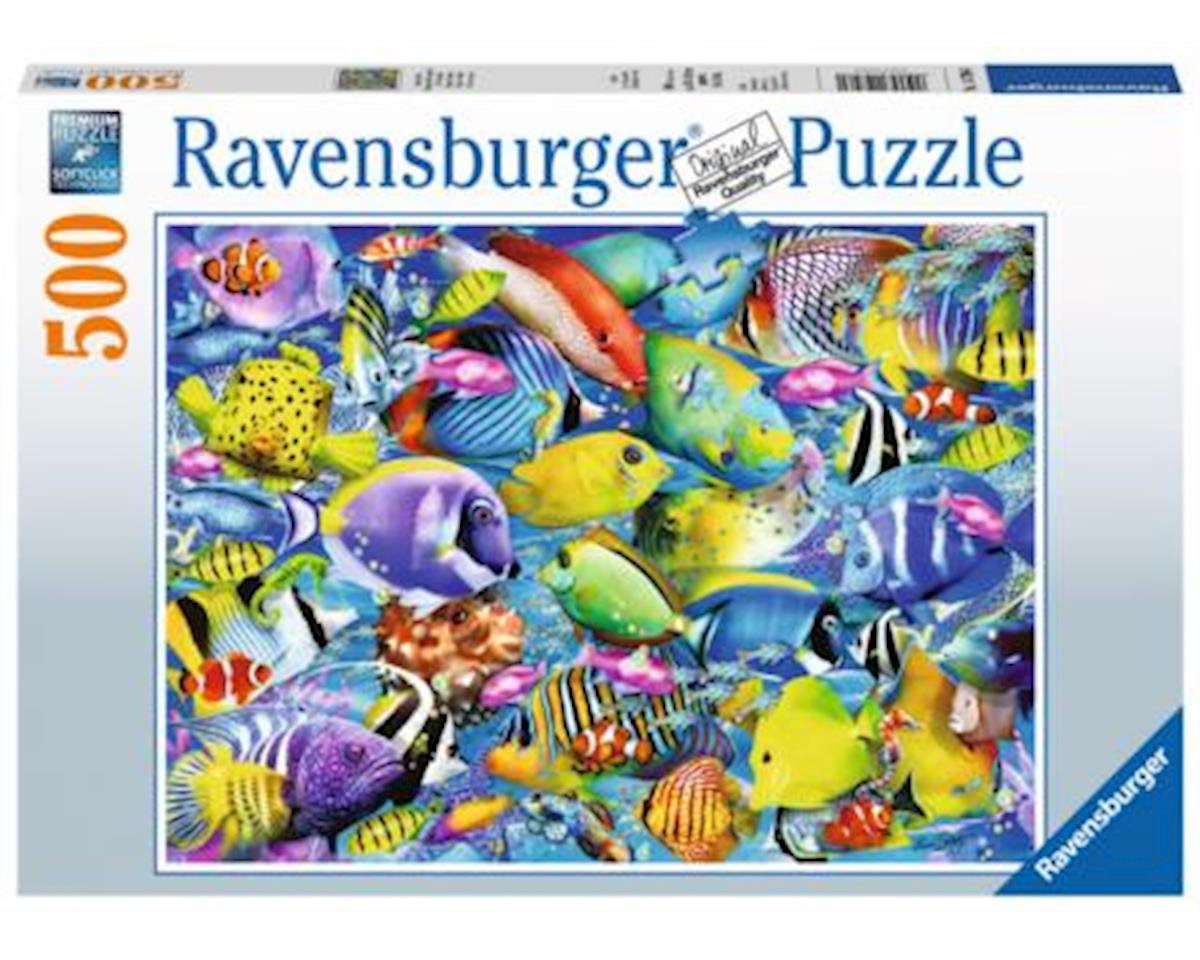 Ravensburger 14796 - Tropical Traffic Jigsaw Puzzle (500 Piece)