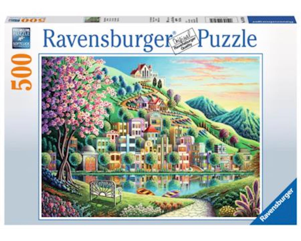 14798 Blossom Park Jigsaw Puzzle (500 Piece), Multicolor