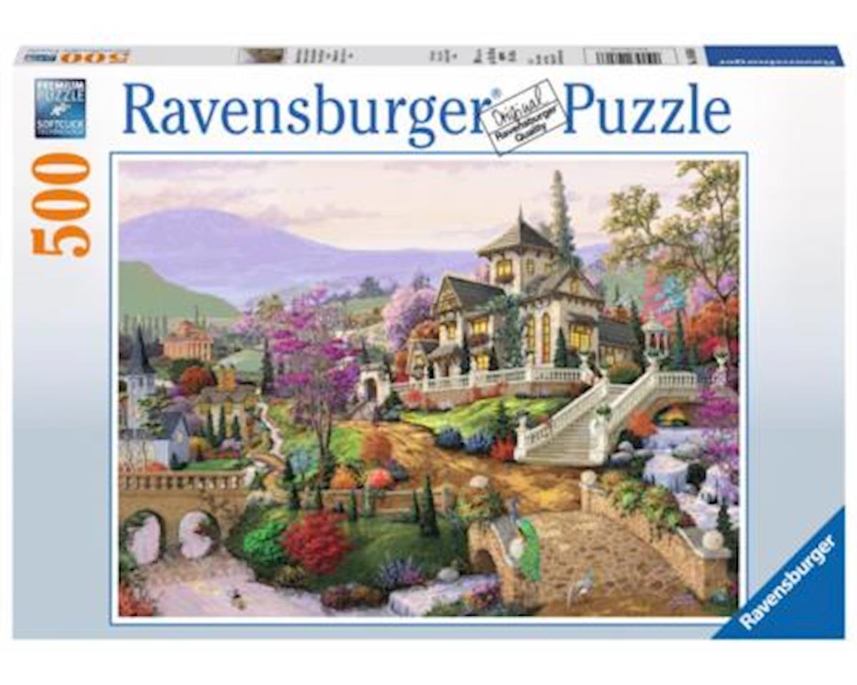 14806 - Hillside Retreat Puzzle (500 Piece), Multicolor