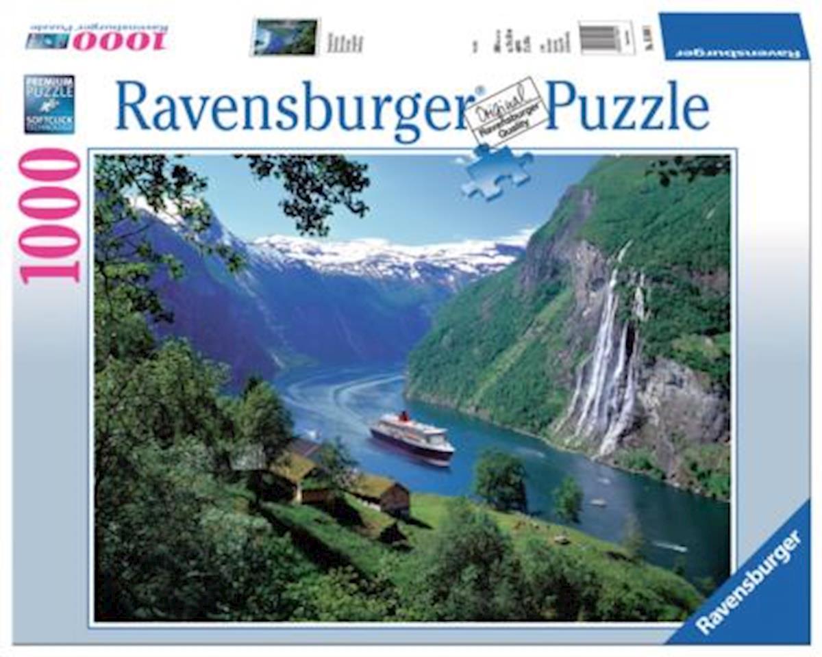 Ravensburger Usa  Norwegian Fjord 1000Pc Puzzle
