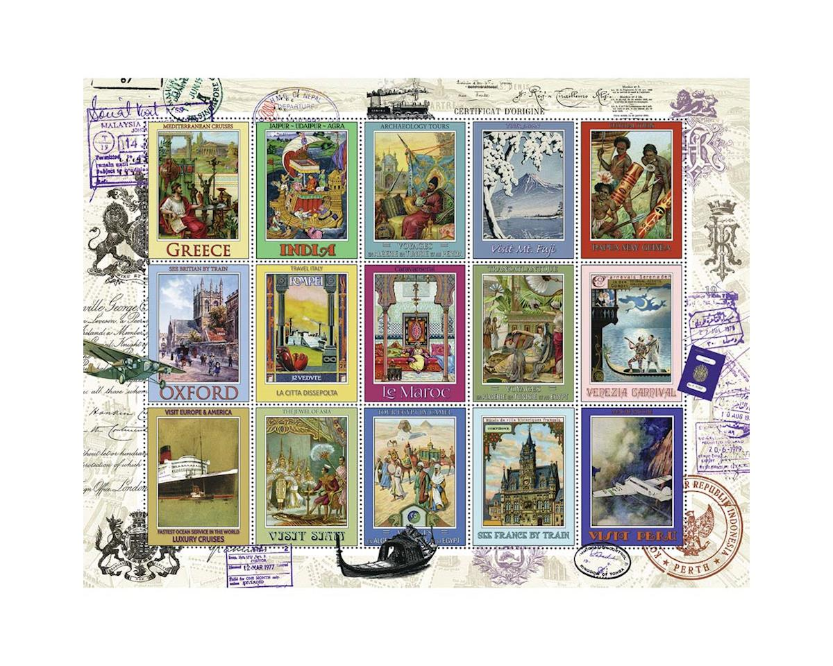 16602 Vacation Stamps 2000pcs by Ravensburger - F.x. Schmid