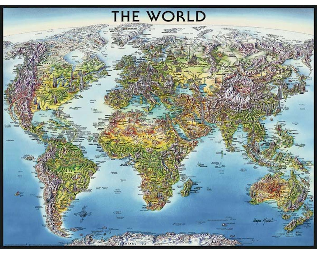16683 World Map 2000pcs by Ravensburger