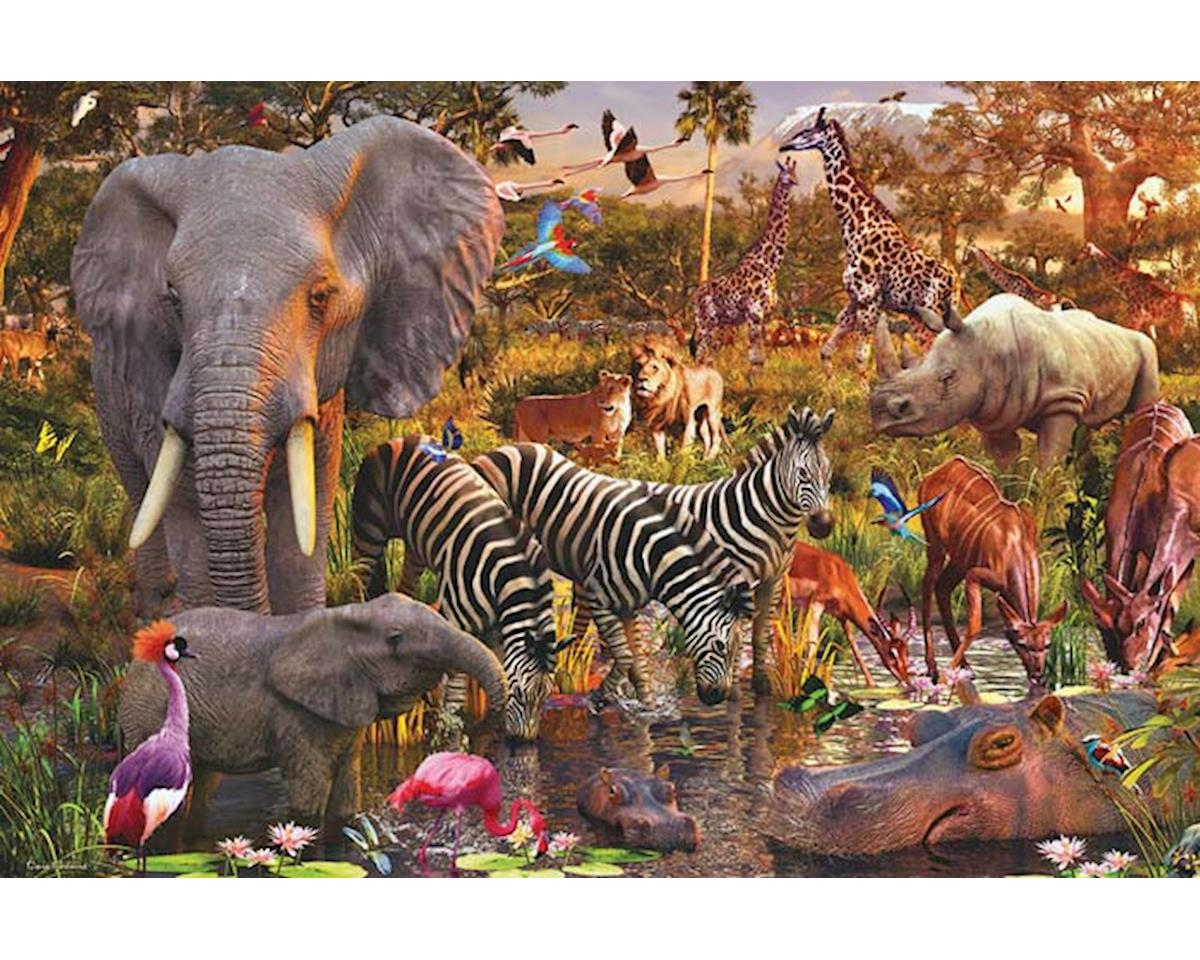 Ravensburger - F.x. Schmid Ravensburger Usa  African Animals 3000Pc Puzzle