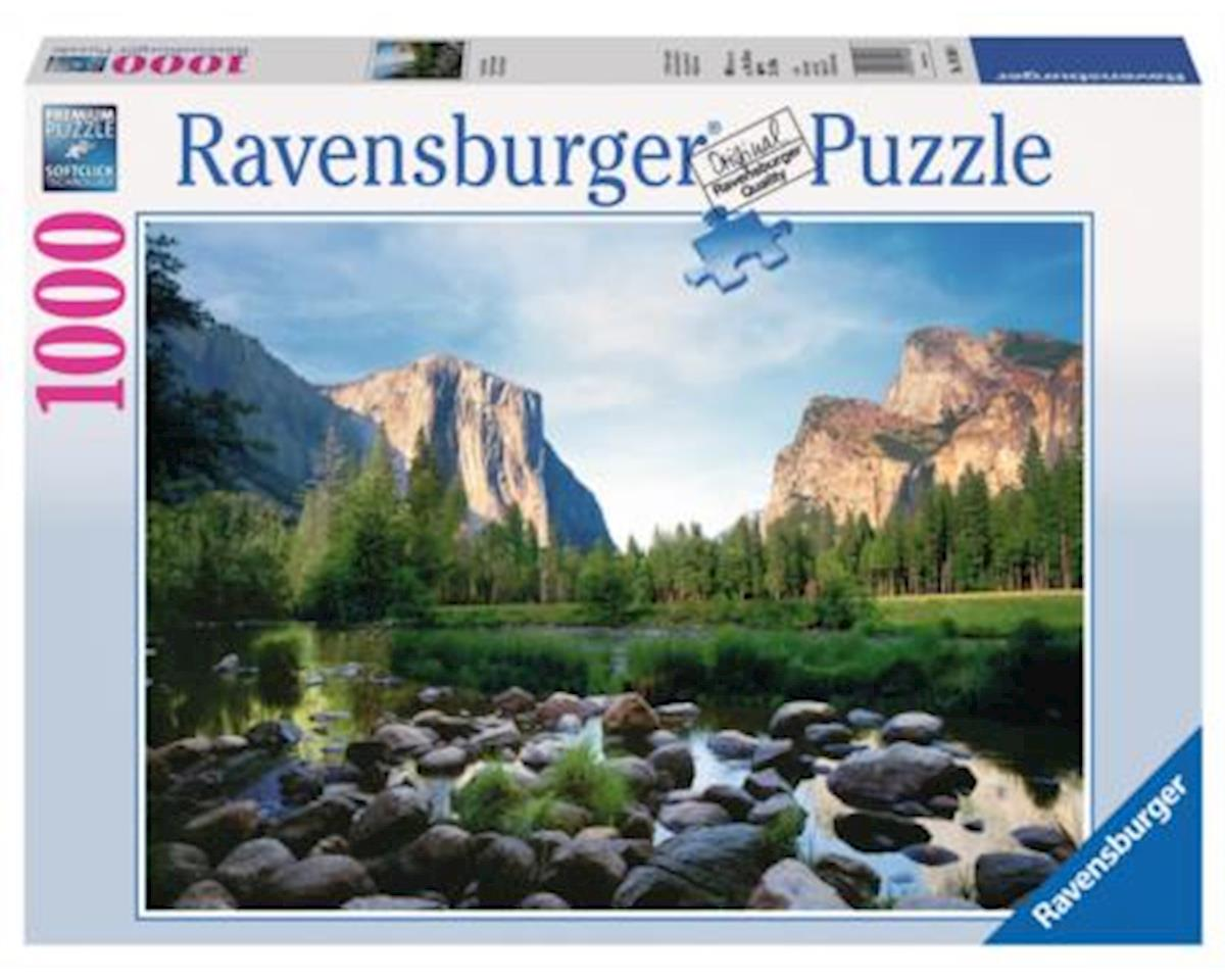 Ravensburger - F.x. Schmid Ravensburger Usa  Yosemite Valley 1000Pc Puzzle