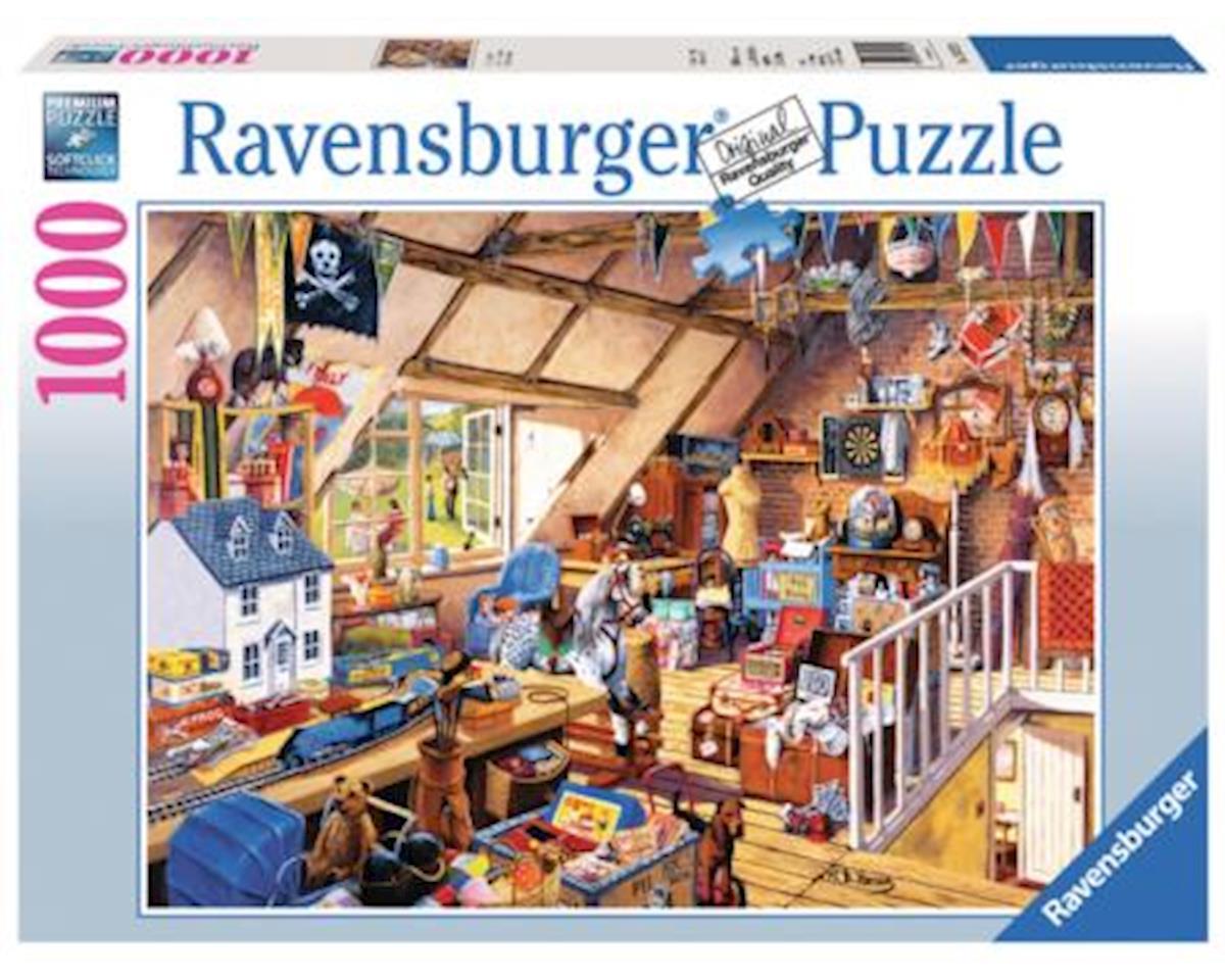 Ravensburger Grandma's Attic 1000 Pc