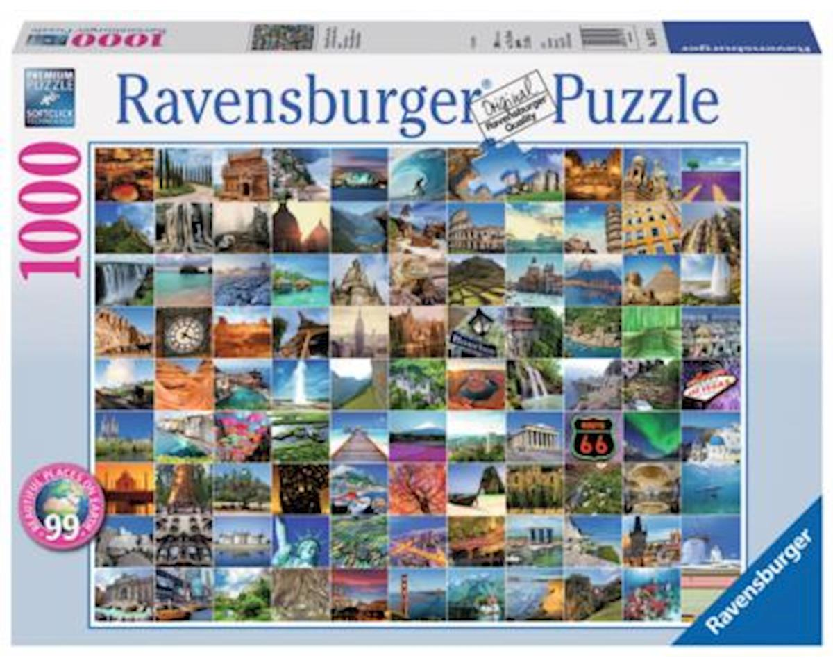 Ravensburger - F.x. Schmid 99 Beautiful Places On Earth 1000 Pc
