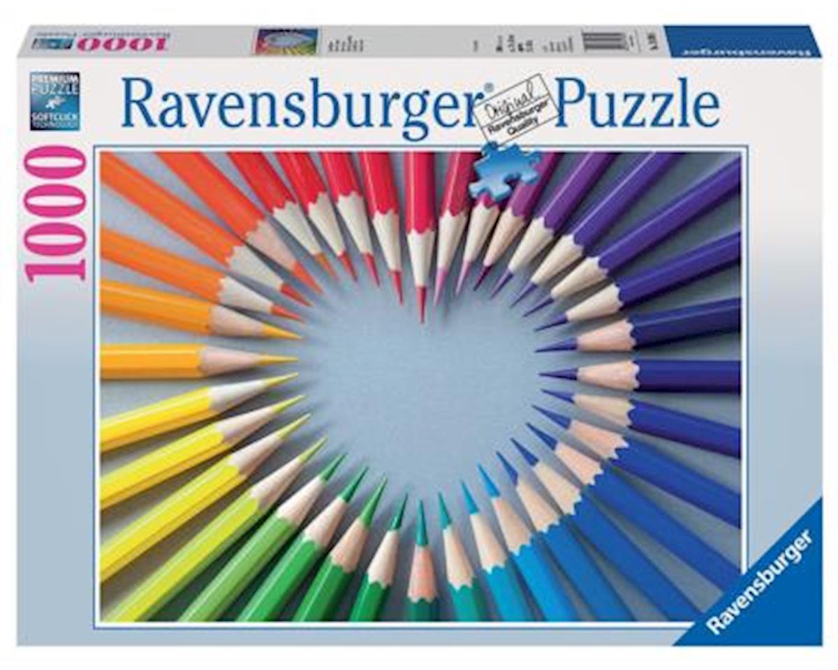 Color my Heart Puzzle (1000-Piece)