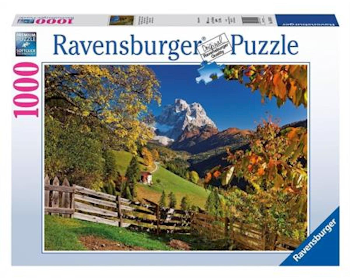 Mountains In Autumn 1000Pcs by Ravensburger - F.x. Schmid