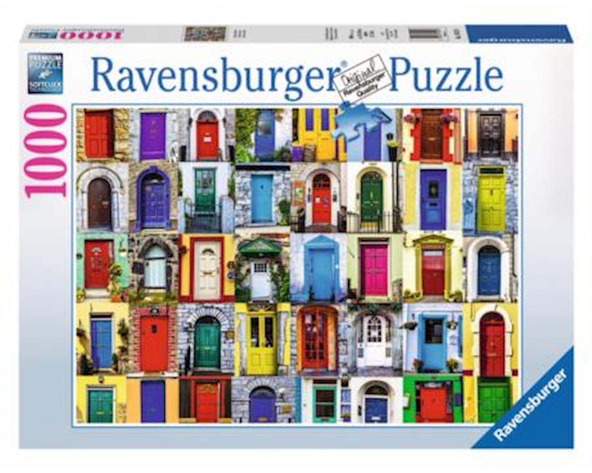 Doors of the World Puzzle (1000-Piece)